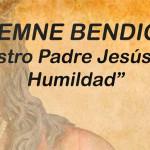 Bendición de la Imagen de Nuestro Padre Jesús de la Humildad, obra del escultor de Écija, Jesús Richarte