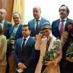 """Pepe Luis Vargas recibe el Premio Taurino en la IX Gala """"Asociación Cultural Tradiciones Sevillanas"""", del Círculo Mercantil"""