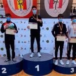 El taekwondista de Écija Miguel Ángel Sotillo Bañuelos, Medalla de Oro en el V Open Internacional Don Quijote, celebrado en Ciudad Real